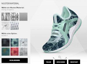 Verschiedene Materialien und Designs stehen zur Auswahl